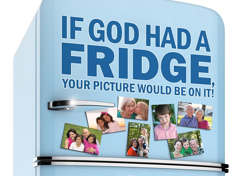 Cover Design: If God Had A Fridge