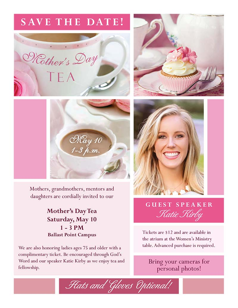 Mothers day Tea Buzz Ad.indd