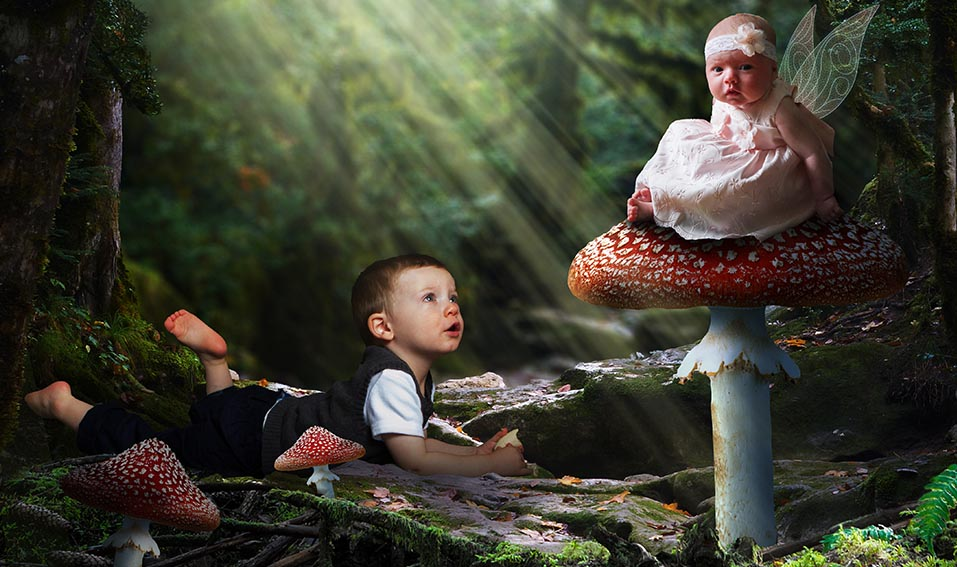 Magical Forest Fantasy Kid's Edit