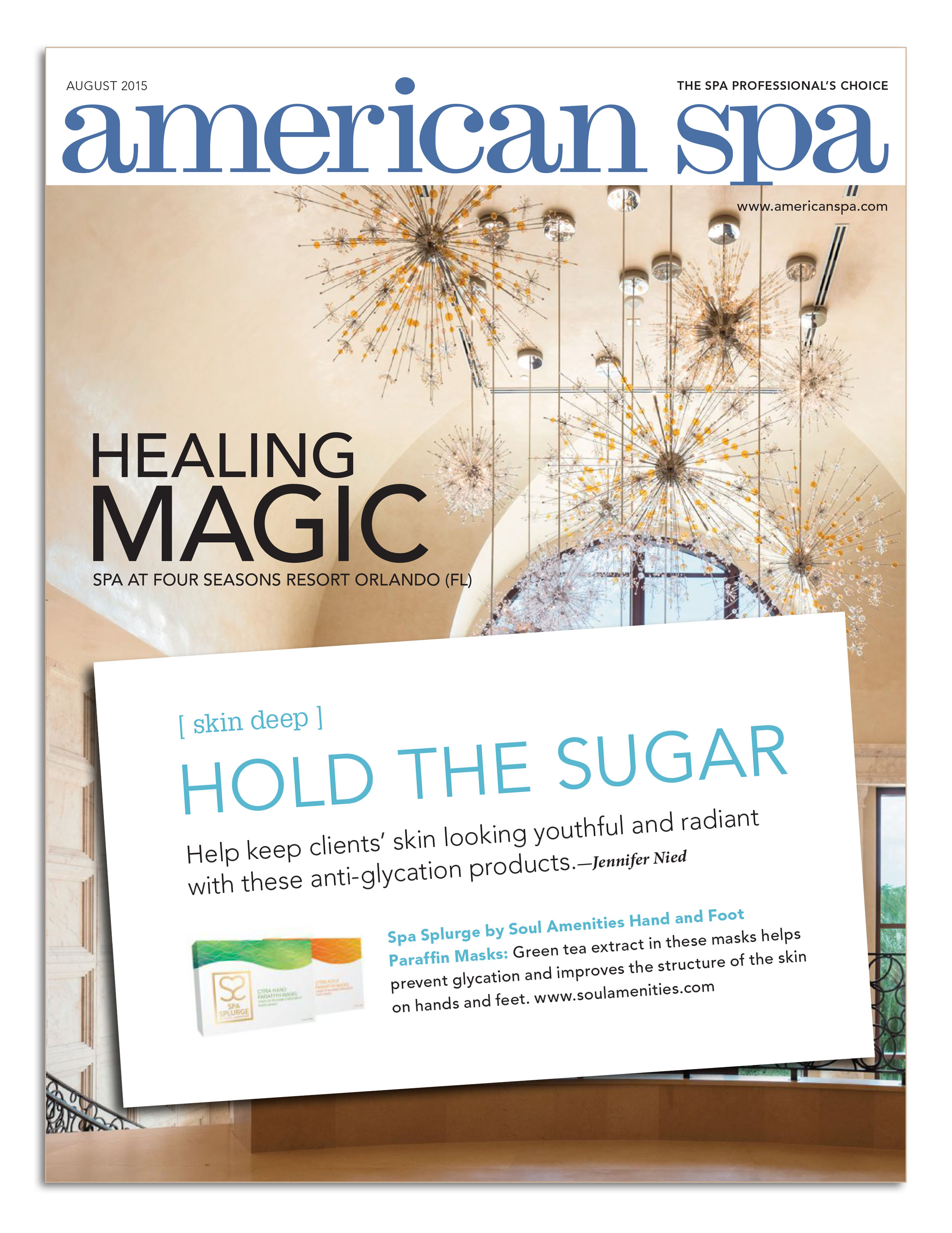 American Spa Magazine August Issue SIGN